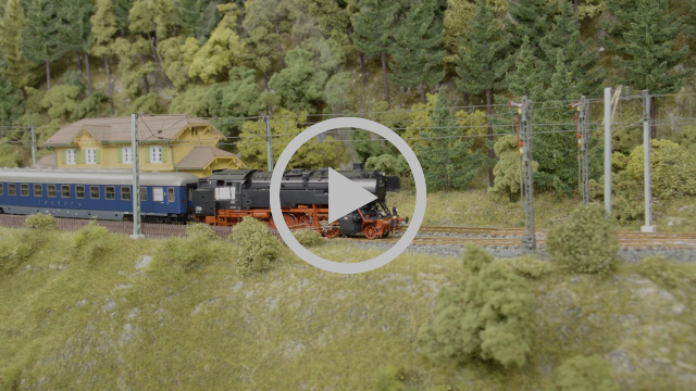 Dampflokomotive BR 85 007