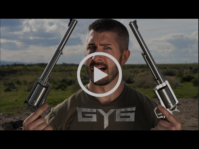 Two BIG FREAKIN GUNS | BFR 45-70 Revolvers