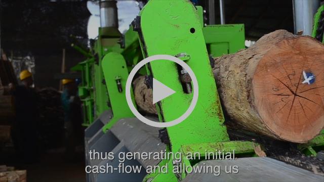 Sawmill production Ganaderia Pietrasanta