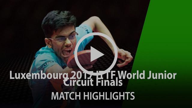 2017 World Junior Circuit Finals Highlights: Kanak Jha vs Vikash Manav Thakkar (Final)