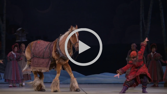 The Magic Behind the Dancing Horse in The Nutcracker | 2016 | The National Ballet of Canada