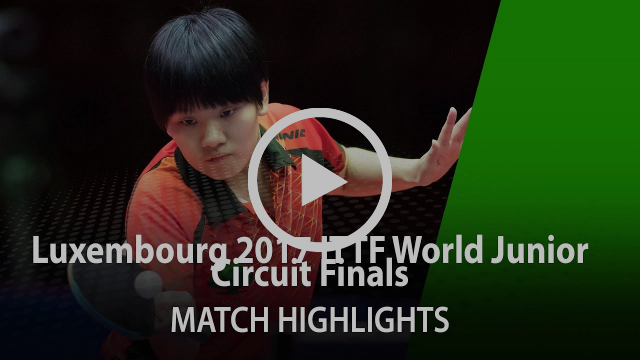 2017 World Junior Circuit Finals Highlights: Maki Shiomi vs Su Pei-Ling (Final)