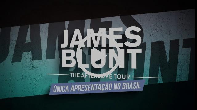 James Blunt em única apresentação no Brasil - FEV 2018