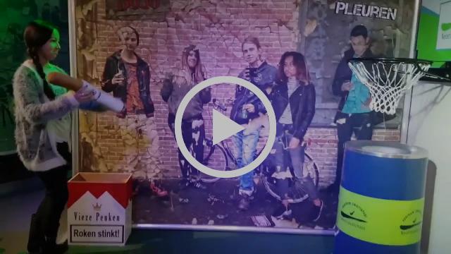 De Zwerfafval Experience - video-impressie in Milieuhuis Nissewaard