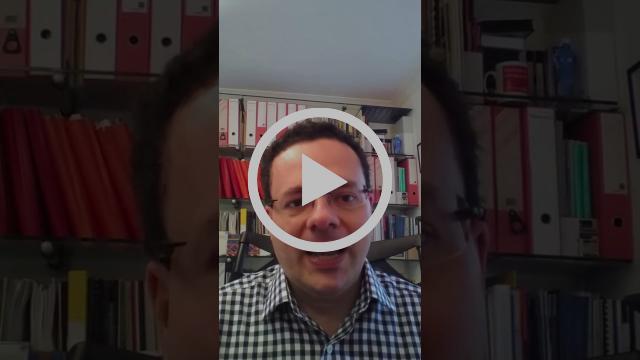 Video screenshot of Mark Pack speaking