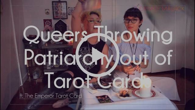 Queer Tarot; Queering the Emperor Tarot Card - removing the patriarchy