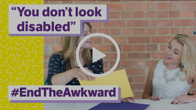 Five awkward things to avoid doing when you meet a disabled person - End the Awkward 2016