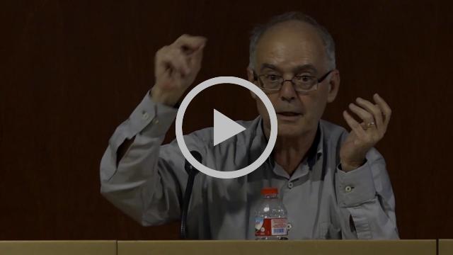 Joan Gaya, Comissionat de l'Aigua, al Debat de l'Aigua a Terrassa
