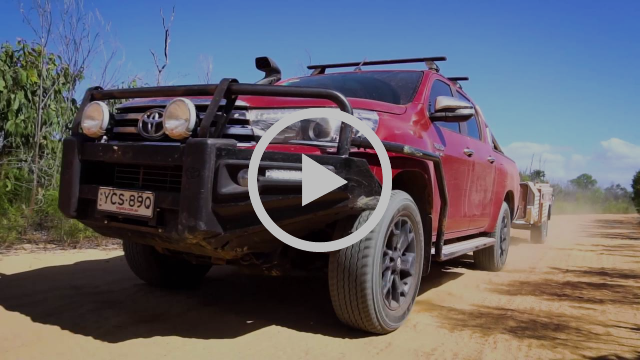 4WD Action puts the Toyota HiLux offroad towing capabilities to the test