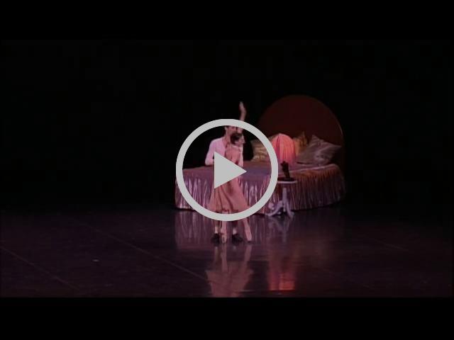 2014 : 'CHÉRI' DE ROLAND PETIT, DANSÉ PAR MATHIEU GANIO ET ISABELLE CIARAVOLA