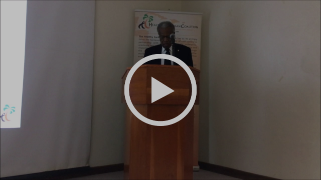 Sir George Alleyne closed the meeting with his vision of the CSO movement in the Caribbean