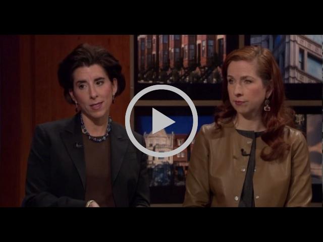Gina Raimondo Talks Pension Reform With Bridget Gainer