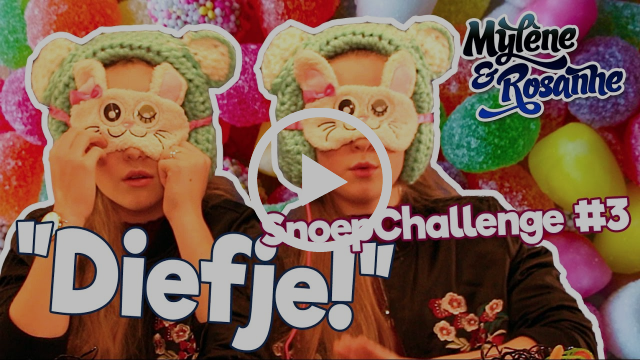Snoepchallenge #3 - Mylène & Rosanne