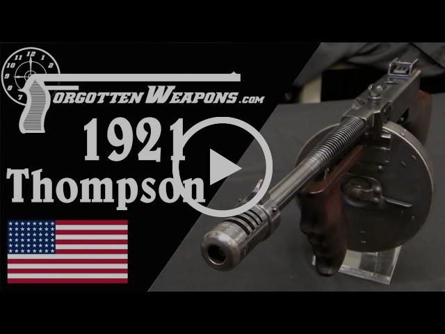Thompson 1921: The Original Chicago Typewriter