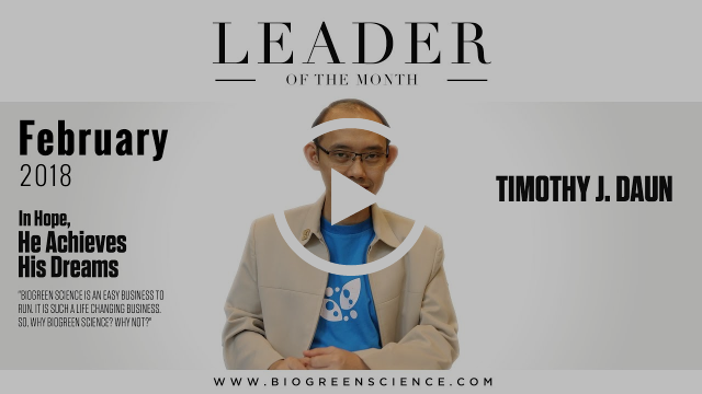 "Timothy J.Daun -- ""In Hope, He Achieves His Dreams"" 