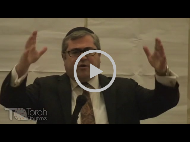 Rabbi Steven Burg at the AJOP Convention