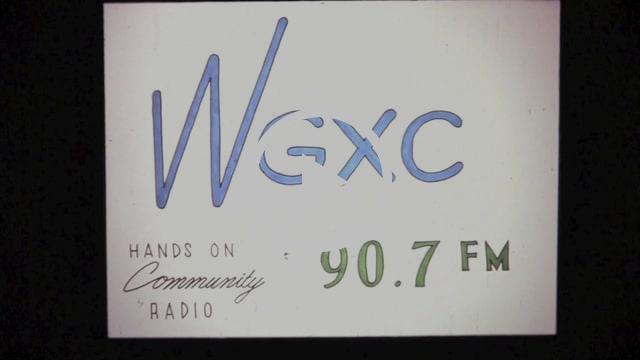 Wave Farm's WGXC: a filmstrip by Brian Dewan.