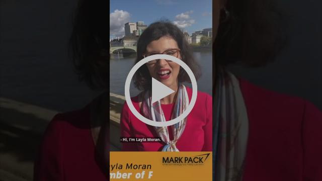 Layla Moran speaking in Westminster
