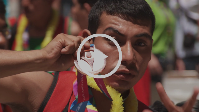 Video by Special Olympics on the Abu Dhabi games.