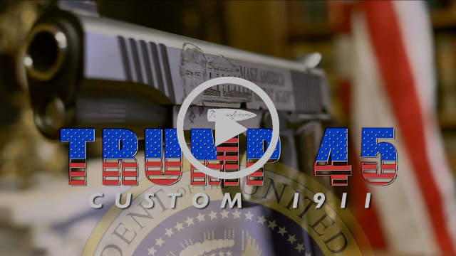 "Thompson ""Trump 45"" Custom 1911"
