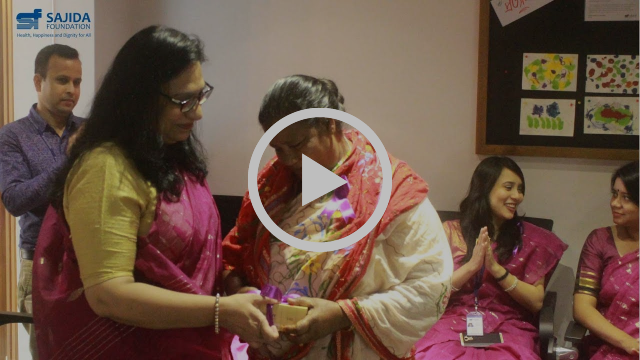 Click to watch our tribute to our SAJIDA Women
