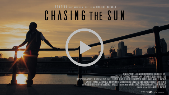 Ponteix: Chasing the Sun