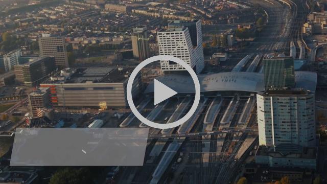De Ontknoping: Luchtbeelden Utrecht Centraal