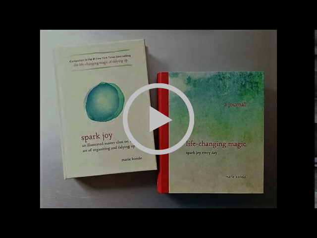 Marie Kondo Spark Joy Audiobook : A Master Class on the Art of Organizing and Tidying Up