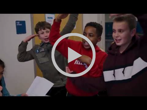 Video on GIVE Day in elementary schools