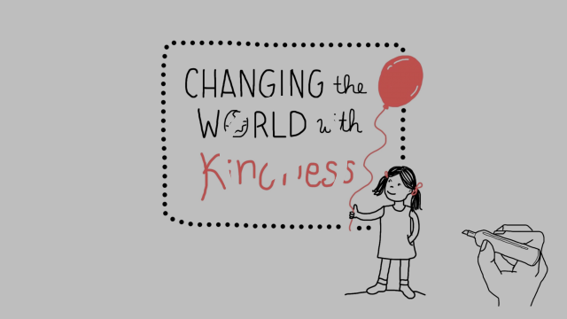 How to Change the World With Kindness