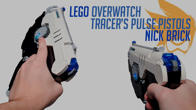 LEGO Tracer's Pulse Pistols - Overwatch