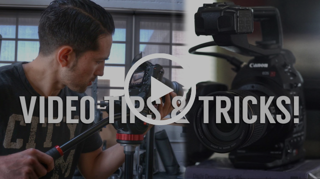 5 Simple Tips & Tricks to Shoot Better DSLR Video!