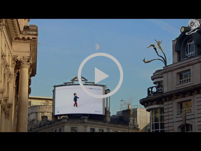 Cannes Lions Grand Prix 2014 Direct Lion British Airways Magic of Flying Ogilvy One, London