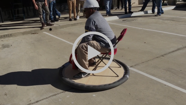 YouthBuild Charter students launch hovercraft in Palmdale