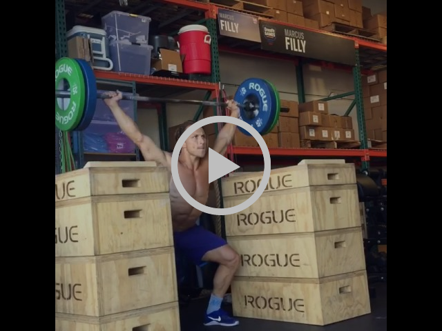 Concentric Only Overhead Squat