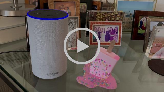 Video of Alexa whispering