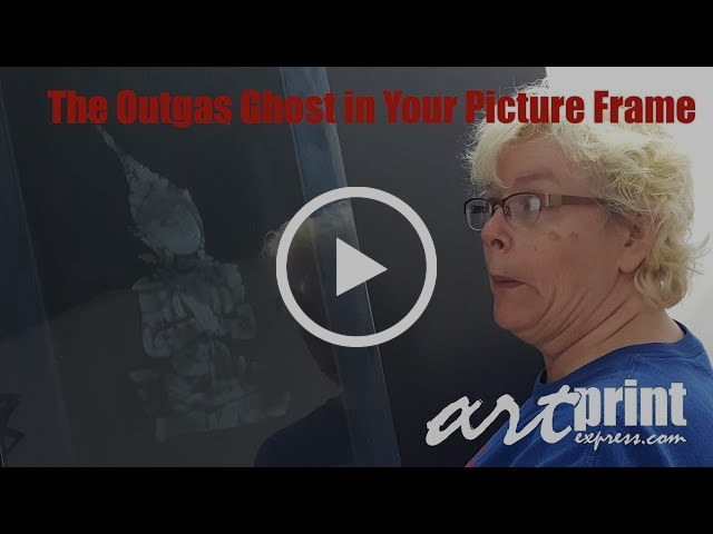 The Outgas Ghost in Your Picture Frame