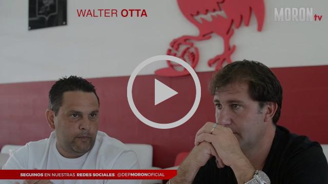 Mano a mano con Walter Otta