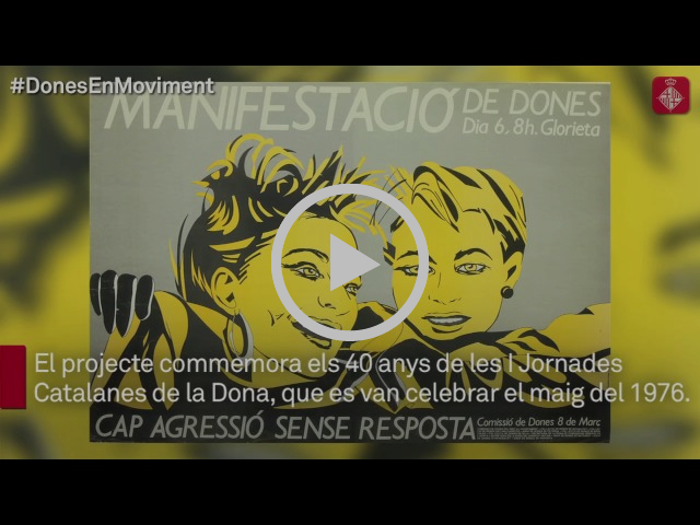 Quaranta anys de mobilitzacions de les dones