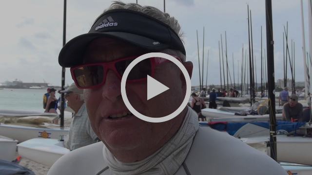 Highlights from Day 4 of Finn World Masters in Barbados