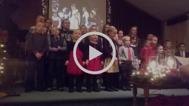 Rittman Grace Kids go old-skool for Christmas
