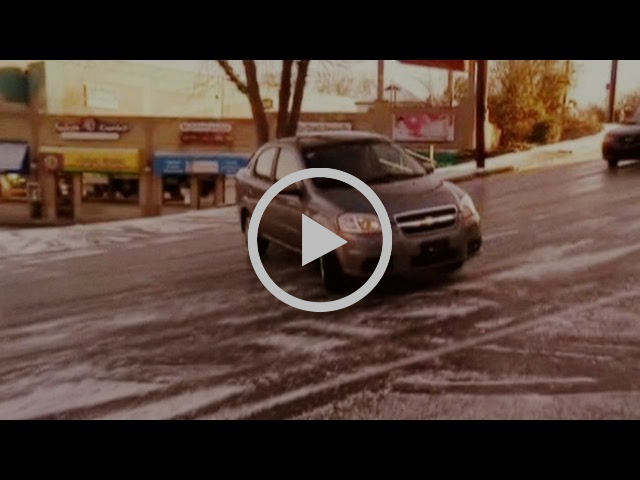 How NOT to Drive on Ice!