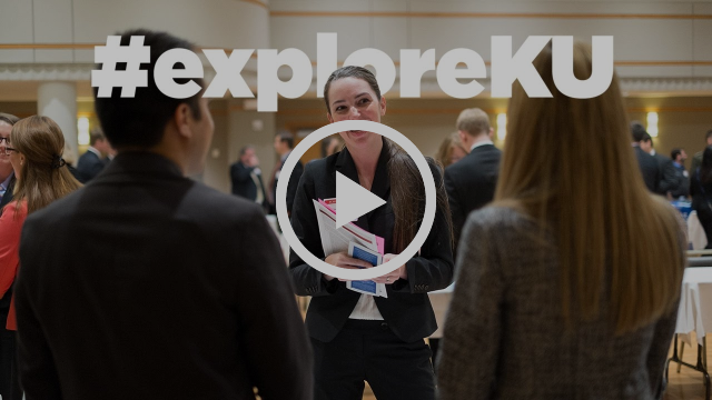 Explore KU: Jayhawks commence their career connections