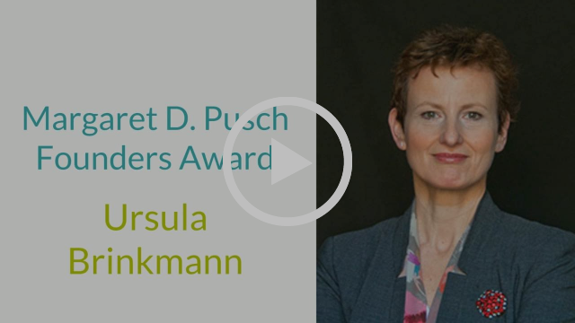 Margaret D Pusch Founders Award 2016