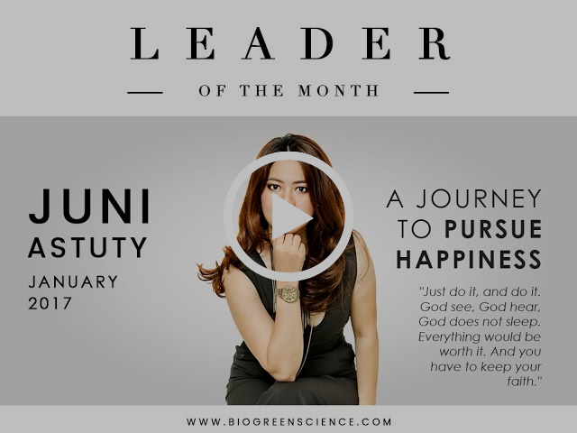 Leader of The Month -- A Journey to Pursue Happiness (January 2017 edition)