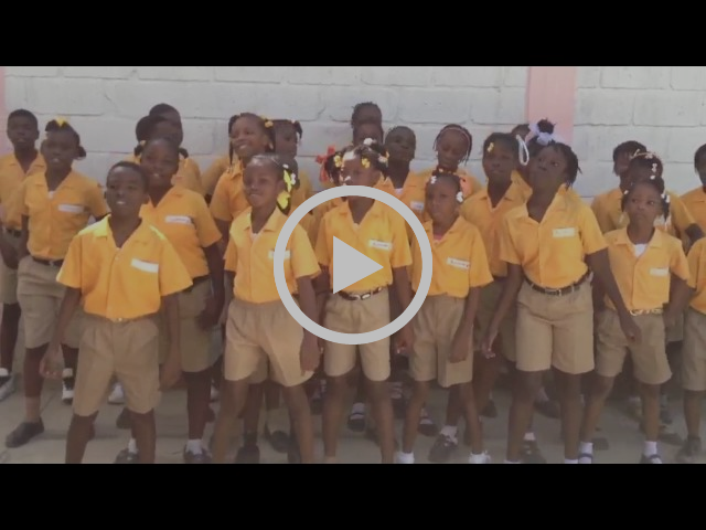 ThankYou from Children of Haiti Project students