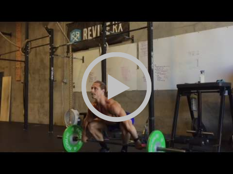 Slow Pull Power Snatch