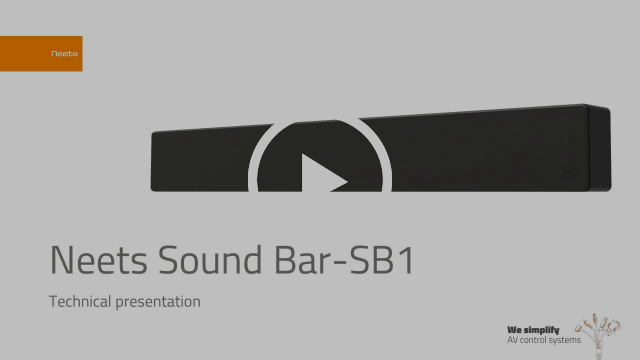 Neets Sound Bar-SB1 Technical presentation