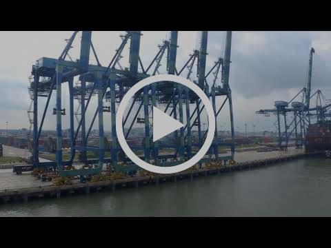 Arriving Port Kelang