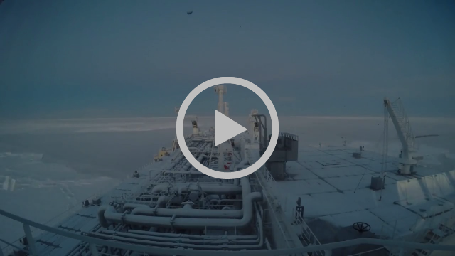 Icebreaker Eduard Toll Transiting the Northern Sea Route | Teekay